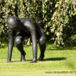 statue at Sollidens Slott, Öland, Sweden