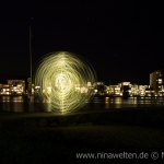 Lightpainting in Kalmar, Sweden