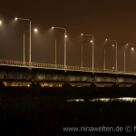 Ölandsbron at night.