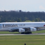 Airbus A380 at Munich airport