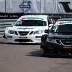 STCC Gothenburg City Race 2014 - IMG_8398 - Emma Kimiläinen, Roger Samuelsson