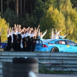 STCC final at Mantorp Park - Volvo Polestar championship photo shooting