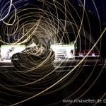 lightpainting, Mantorp Park, LED, Volvo, Racing